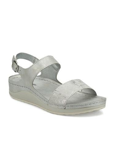 Travelsoft Sandalet Gümüş